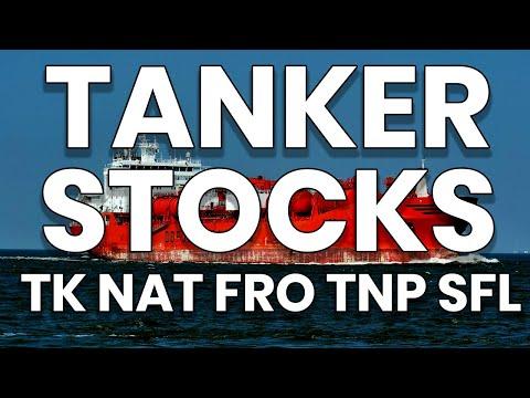 Tanker Stocks! - TK NAT FRO TNP SFL - Technical Analysis Chart 05/06/2020
