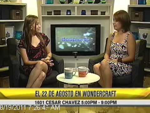 Teresa Basa Jewelry Designer interviews at Univision Despierta Austin.asf