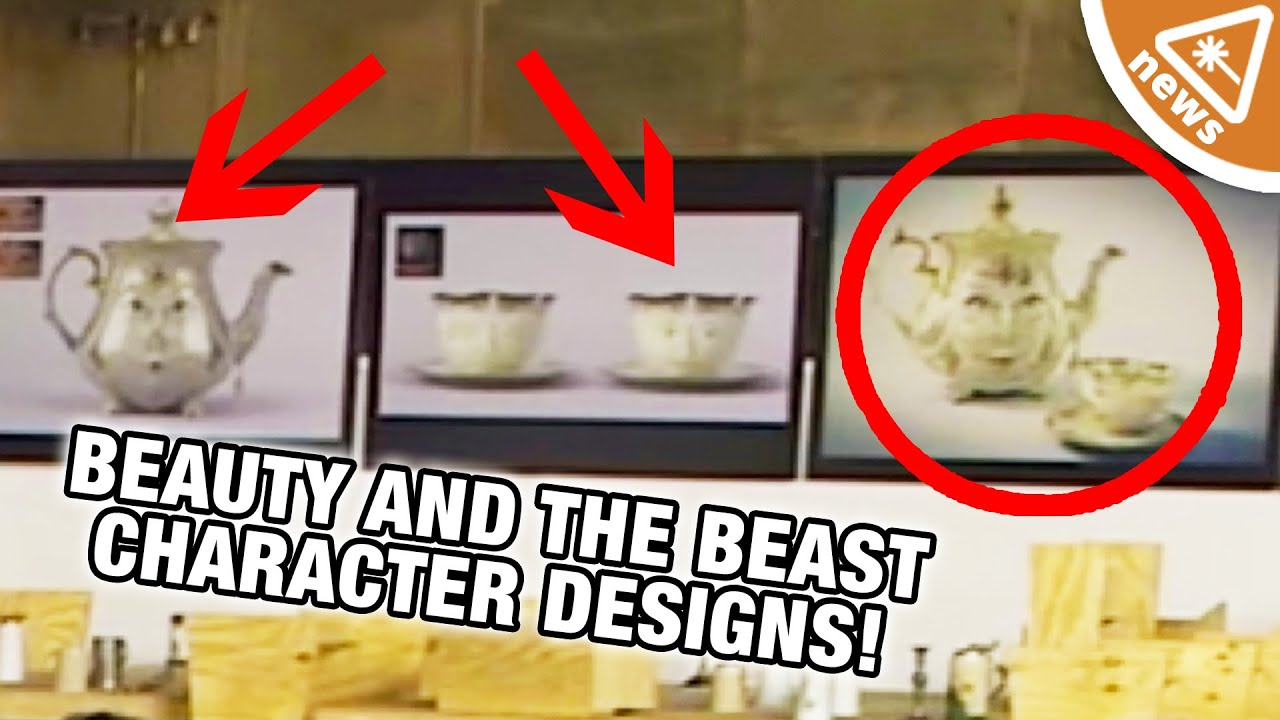 Beauty And The Beast Featurette Reveals Character Designs Nerdist News W Jessica Chobot