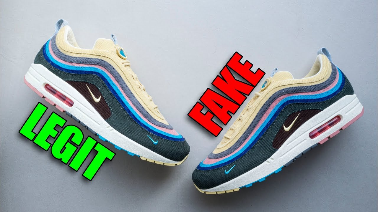 c974f6949a LEGIT VS FAKE AIR MAX 97/1 SEAN WOTHERSPOON - YouTube