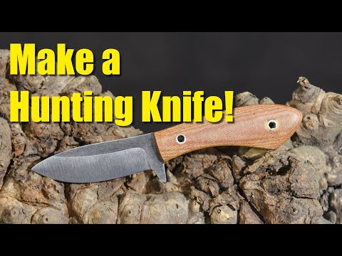 Make A Hunting & Skinning Knife!