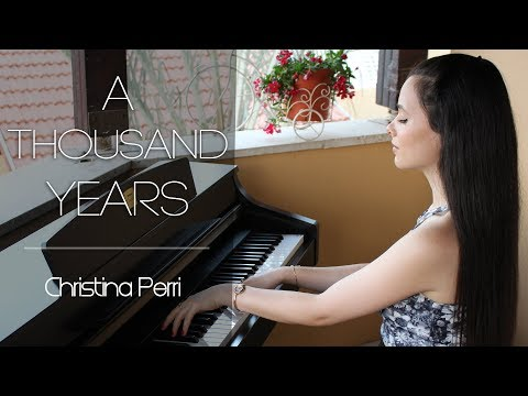 Christina Perri - A Thousand Years | Piano cover by Yuval Salomon