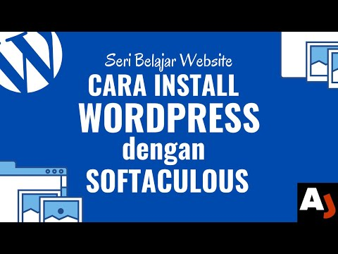 Cara Install WordPress di cPanel Menggunakan Softaculous
