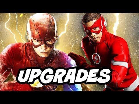 the flash season 5 new suit