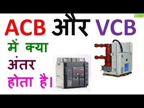 Difference between ACB and VCB in Hindi