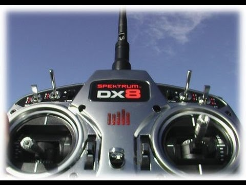 Review: Spektrum DX8 and DSMX
