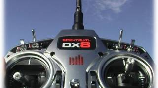 Review Spektrum DX8 and DSMX