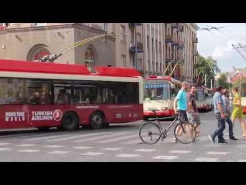 Dainų šventės metu Vilniaus viešasis transportas susidūrė su kamščiais