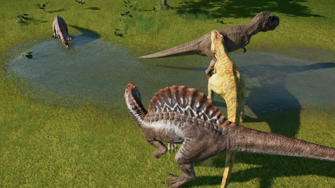 Spinosaurus VS Giganotosaurus VS T-Rex VS Ceratosaurus ...Giganotosaurus Vs Spinosaurus