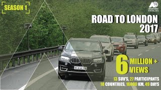 INDIA To LONDON By ROAD : 16000 km I 13 cars I 27 Participan...