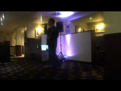 Andrew Coleman performs New York,, New York @ The Verve Grill, Village Hotel, Liverpool