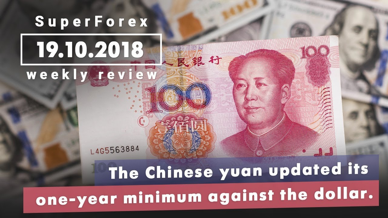 Forex News Weekly Review Chinese Yuan Declines October 19 2018