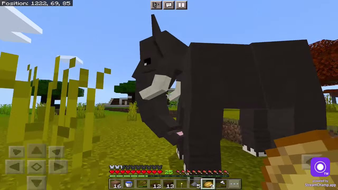 Modding my Minecraft world live 