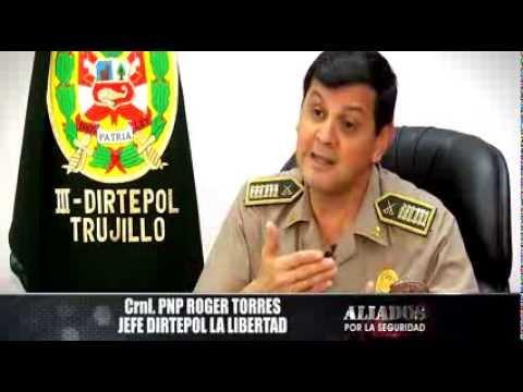 Aliados por la seguridad: Crimen en Trujilllo
