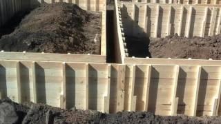 видео Фундамент под ключ тульская область