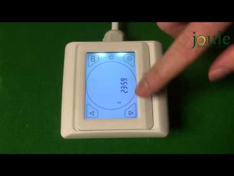 Joule underfloor heating touchscreen thermostat youtube asfbconference2016 Choice Image