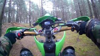 Racer bo'yicha chiqishdan 125 200 / Kawasaki kx Enduro