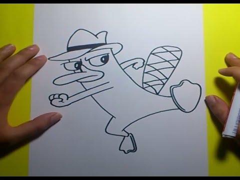 How To Draw Ferb Como dibujar a Agente ...