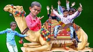 "CHOTU KA CAMEL | ""छोटू दादा ऊँट वाला "" Khandesh Hindi Comedy | Chotu Comedy Video"