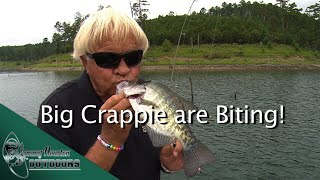The Crappie are Biting!   Jimmy Houston and Mr  Crappie