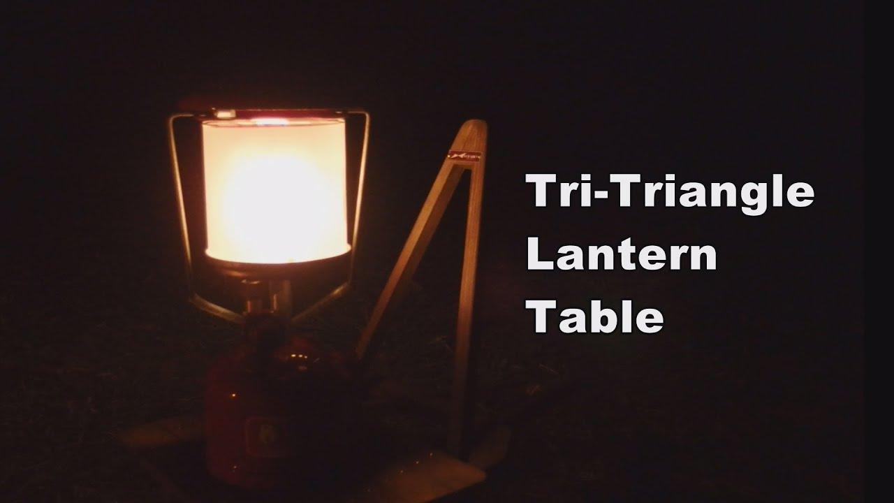 Tri-Triangle Lantern Table
