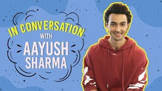 Loveratri: Aayush Sharma REVEALS why he wouldn't want to work out with Salman Khan | Pinkvilla