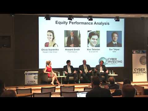 Cyber Investing Summit 2018: Cybersecurity Equities Performance Analysis