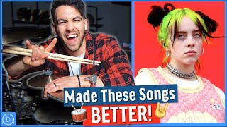 I Added ROCK DRUMS To These POP Songs (Made Them BETTER!)