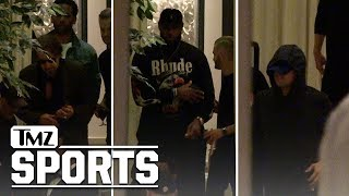 LeBron James Has Power Dinner with Al Pacino and Leo DiCaprio | TMZ Sports