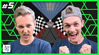Minecraft Parkour Race met Milan en Jeremy | 1V1 | LOGNL #5