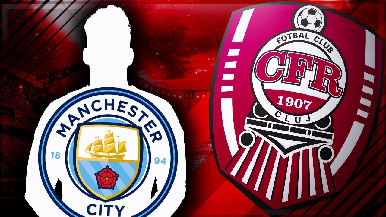 CFR Cluj Transfer de la Manchester City Uimitor ! || FIFA ...