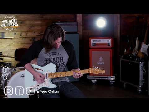 Fender Custom Shop &39;69 Tele Thinline Journeyman Aged Sonic Blue