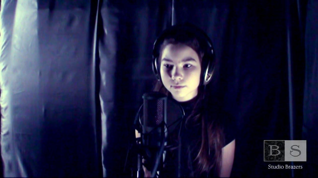 Милена - вечерняя звезда  (девочке 10 лет. красиво поет) (brazers studio records г.Владимир)