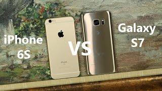 Samsung Galaxy S7 vs iPhone 6S Full Comparison