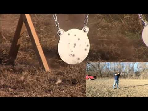 The Jts Shotgun Shooting 00 Buck At Steel Target Using Saiga 10 Round Mag