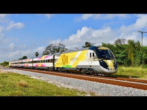 Florida Brightline Passenger