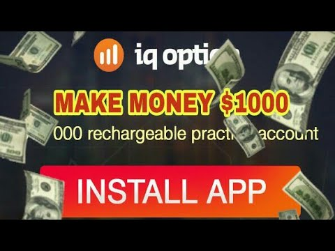 How to make real money with IQ option app $1000😨 in a hour |GOI-PEAK|