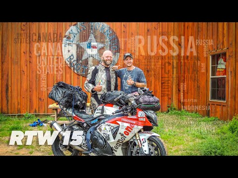 TeapotOne Around The World by Motorcycle - Episode 15  USA & Canada Part 1 of 2