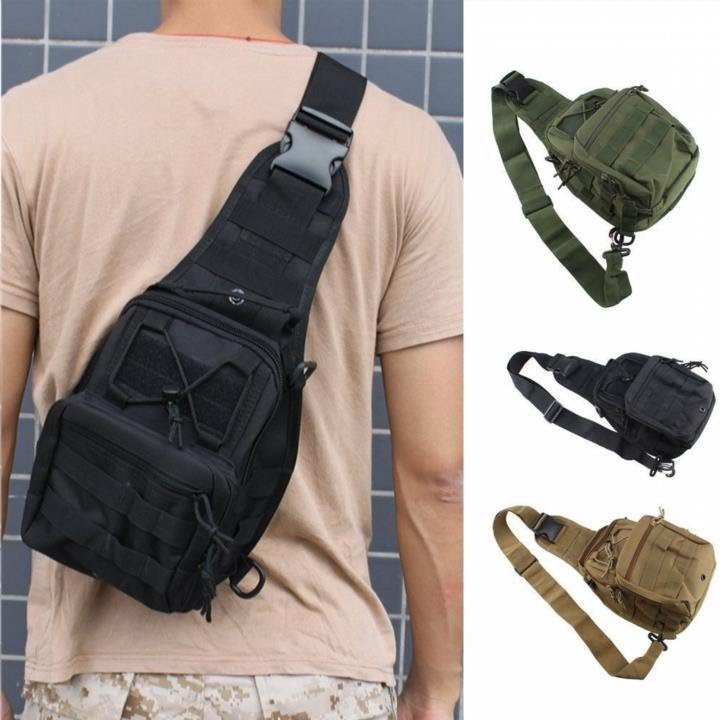 Outdoor Molle Sling Military Shoulder Tactical Backpack Camping Travel Bags I LG Sonstige