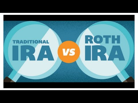 Traditional Vs ROTH IRA  Which Should YOU Choose?