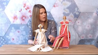 How to Sew a Tilda Doll Preview