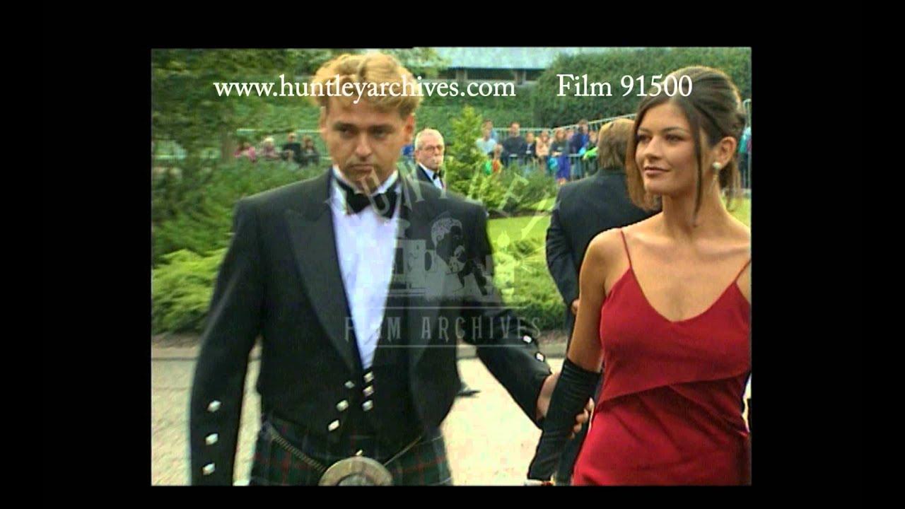 Catherine Zeta Jones and Angus MacFayden at the Braveheart ...