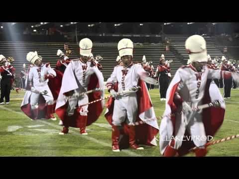 Winston Salem State University - Field Show - 2014