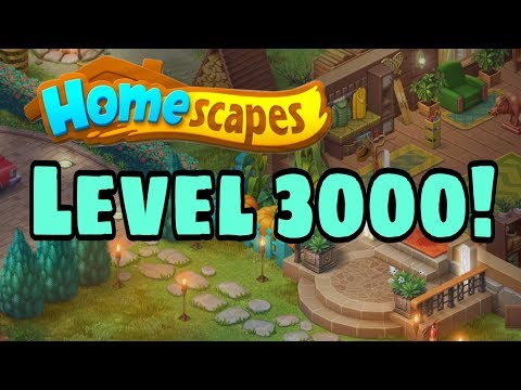 HOMESCAPES - Gameplay Walkthrough Part 107 - Level 3000