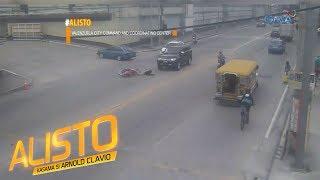 Alisto: Motorcycle rider, nakaladkad ng paparating na SUV!