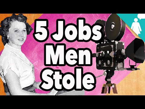 5 Rad Jobs Men Stole from Women
