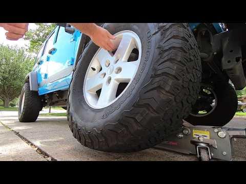 How to Replace a Wheel Speed Sensor on a Jeep Wrangler JK JKU