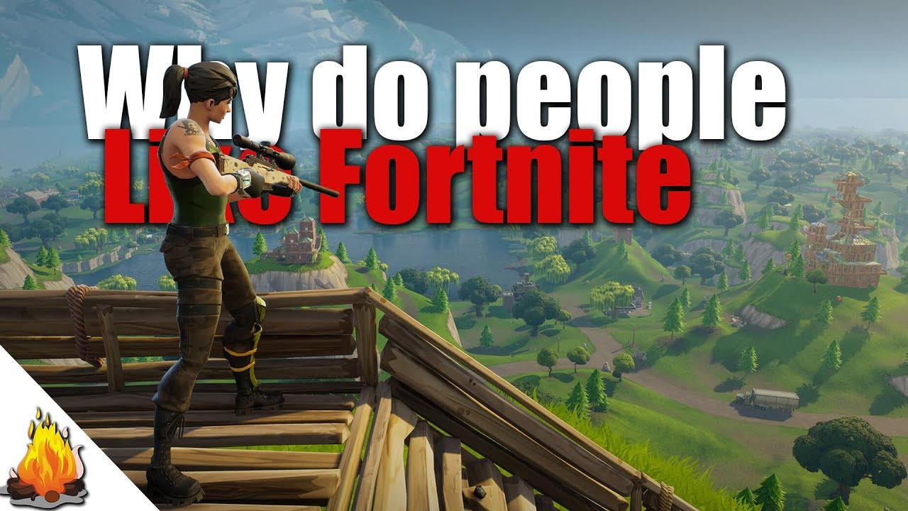 Why Do People Like Fortnite Battle Royal Games Youtube