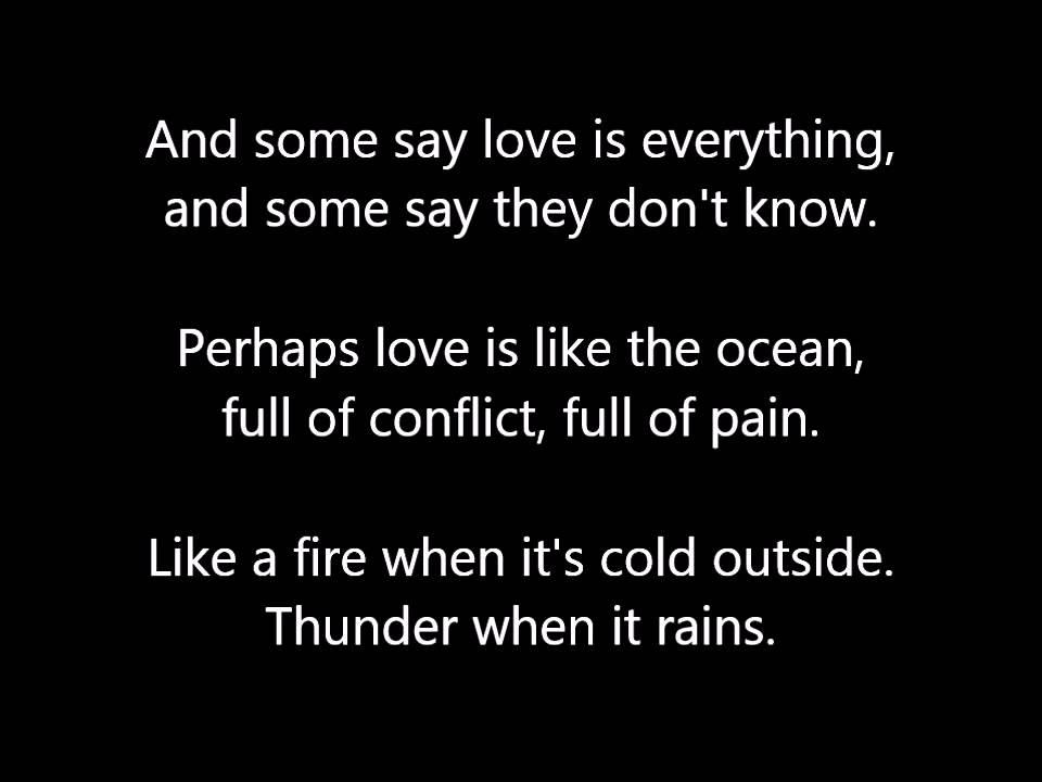 John Denver - Perhaps Love Lyrics - YouTube