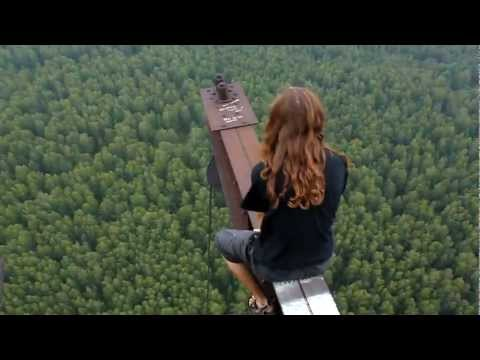 Most SHOCKING Video Ever - Seconds from Fall to Death (Ground 100s Meters Below) - Skywalking